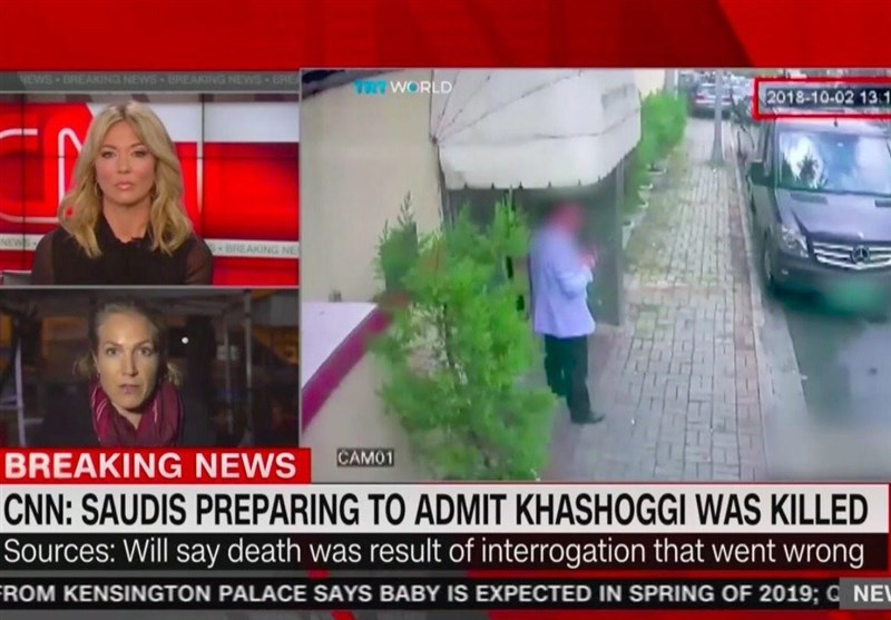 عربستان به قتل خاشقجی در بازجویی اعتراف میکند ,