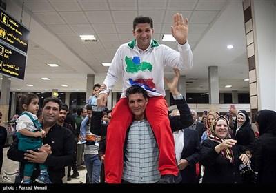 مراسم استقبال از مدال آوران بازی های پارالمپیک آسیایی جاکارتا-کرمانشاه