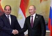 آغاز سفر 3 روزه رئیس جمهوری مصر به روسیه