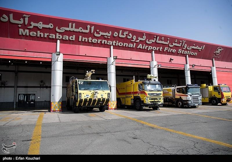 آیین بهرهبرداری از 10 پروژه در فرودگاه مهرآباد
