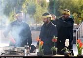 خادمان حسینی و رضوی ایام محرم و صفر در مشهد تجلیل شدند