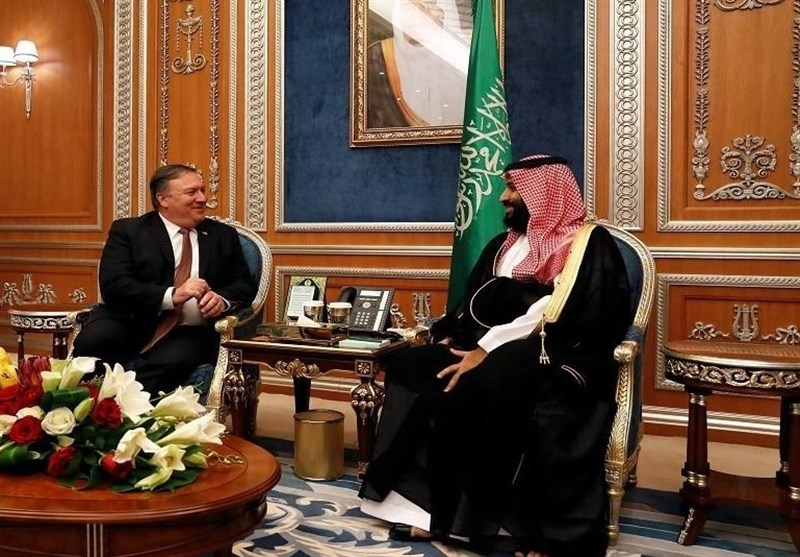 تماس تلفنی تلفنی پامپئو با ولیعهد سعودی با محوریت ایران و یمن