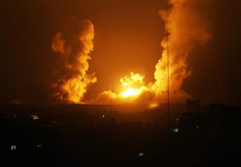 Israeli Warplanes Strike Gaza after Troops Kill Protesters