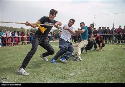 جشنواره بازیهای بومی محلی در روستای ماوا-کرمانشاه