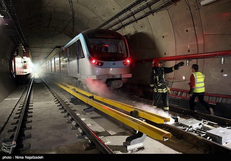 تهران| مرگ کارگر بر اثر برخورد با قطار مترو