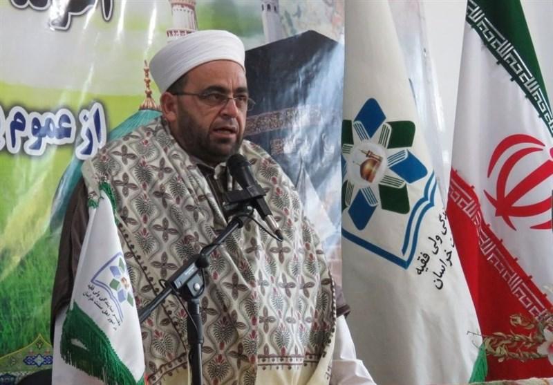 """معاون وزیر اوقاف سوریه در بجنورد: 80 کشور علیه مردم سوریه بسیج شدند/ """"حمایتهای ایران"""" عامل اصلی پیروزی بر """"تفکر تکفیری"""""""