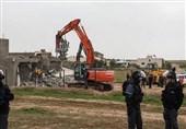 فلسطین| دستگیری 13 فلسطینی در مناطق مختلف کرانه باختری/ اشغالگران سه منزل را با خاک یکسان کردند