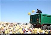 300 تن کالای قاچاق در استان تهران امحا شد