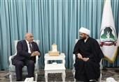 عراق| دیدار دبیرکل «عصائب اهل الحق» با عادل عبدالمهدی