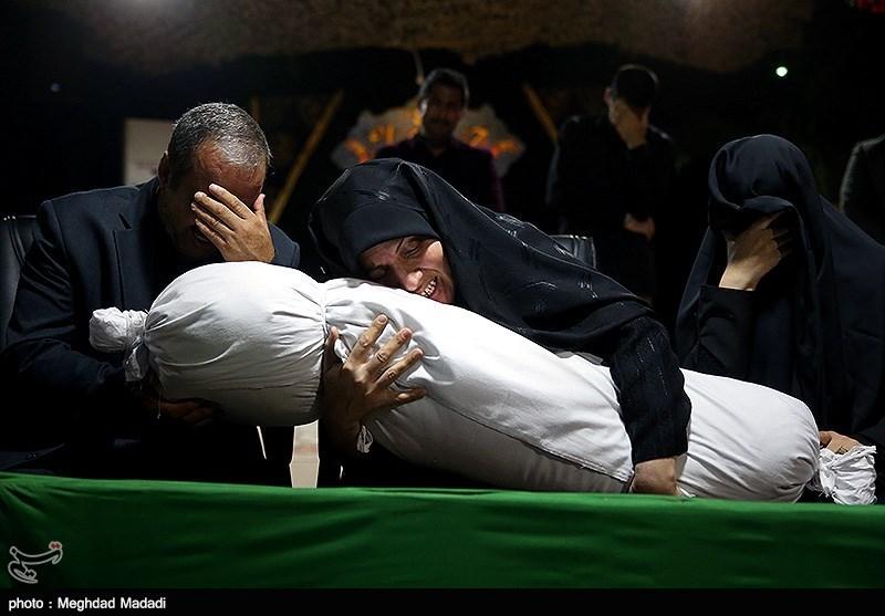 پایان 36 سال فراق خانواده شهید در معراج شهدا+تصاویر