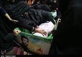 وداع با پیکر شهید فرمانعلی قربانی بعد از 36 سال
