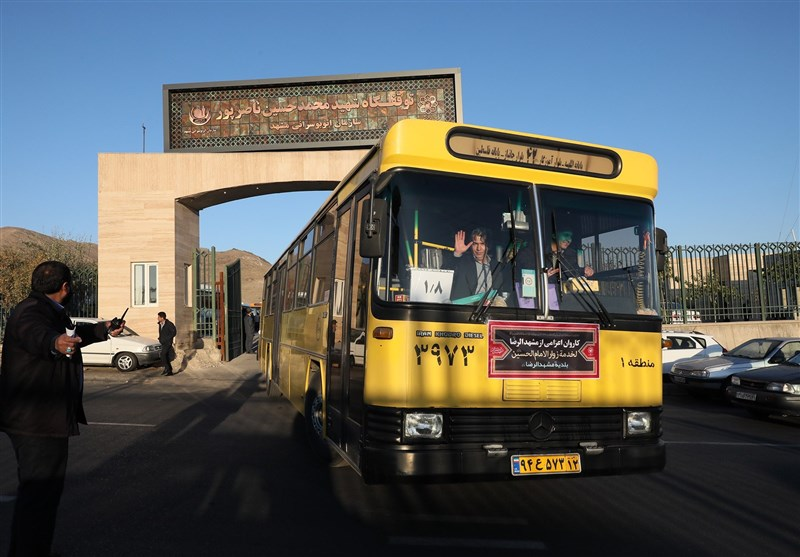 اعزام 100 دستگاه اتوبوس از مشهد به عراق برای خدمترسانی به زائران اربعین