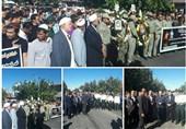 پیکر محیطبان شهید گلستانی تشییع شد