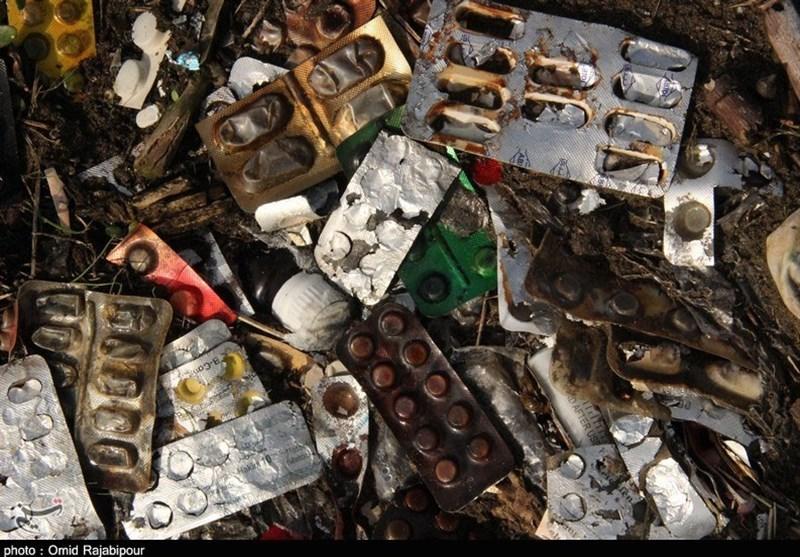 دفع غیراصولی زبالههای بیمارستانی در رودسر به روایت تصویر