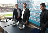 برگزاری مراسم قرعهکشی جام حذفی فوتبال قبل از دیدار سپاهان - پرسپولیس