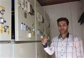 ساخت دستگاه هوشمند اطفای حریق فیدرهای برقی توسط مخترع شیرازی+فیلم