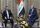 عراق|دیدار برهم صالح با هیئت جبهه گفتوگوی ملی؛ تأکید بر ضرورت حمایت از نخستوزیر