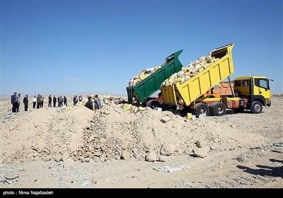 مشہد میں اسمگلنگ کے سامان کو تباہ کردیا گیا