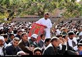 شیخ احمد جام کےمزار میں نماز جمعہ کے منفرد مناظر
