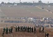 فلسطین| زخمی شدن 241 نفر در حمله نظامیان صهیونیست به راهپیمایی بازگشت