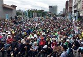 Thousands Rally in Taiwan, Call for Referendum on Independence from China