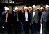 بازدید وزیر مستعفی راه و شهرسازی از شهر فرودگاهی امام (ره)