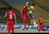 لیگ برتر فوتبال  پیروزی تراکتورسازی مقابل صنعت نفت در نیمه نخست