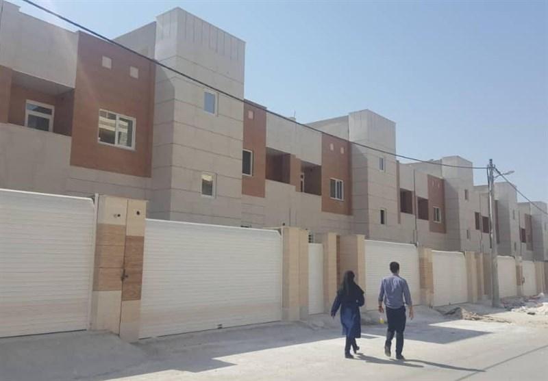 بوشهر  1000 واحد مسکونی ویژه نیازمندان روستایی ساخته شد