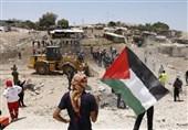 فلسطین| یورش نظامیان صهیونیست به مناطق مختلف کرانه باختری/ تاکید بر تحصن زمستانی در الخان الاحمر