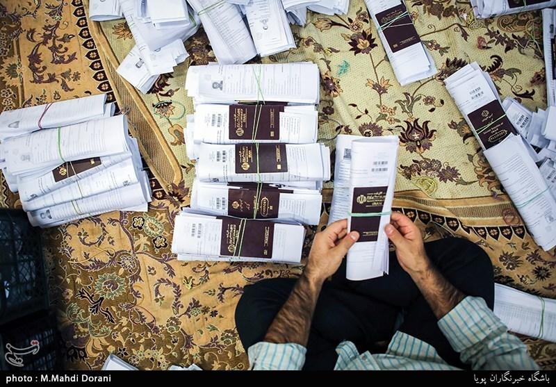 روزهای شلوغ دفاتر سازمان حج وزیارت برای صدور ویزای اربعین حسینی