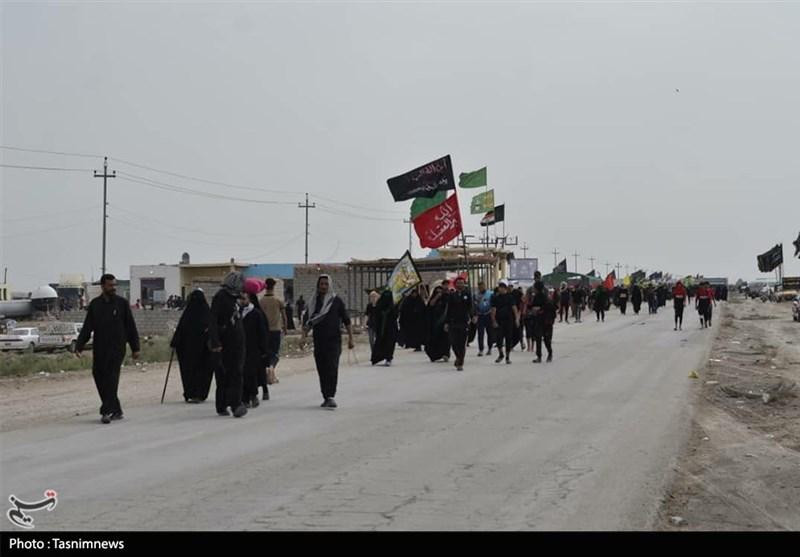 اربعین حسینی| گزارش تسنیم از راهپیمائی میلیونی زائران حسینی به کربلای معلی