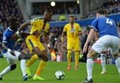 فوتبال جهان  برد دقایق پایانی اورتون مقابل عقابهای لندن