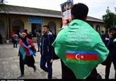 گیلان| ورود زائران قفقازی و آذربایجانی اربعین به ایران به روایت تصویر