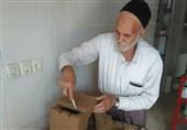 همت پیرمرد 70 ساله شهرکردی در توسعه هنر قدیمی
