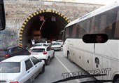 ترافیک سنگین در 70 کیلومتری مهران + عکس