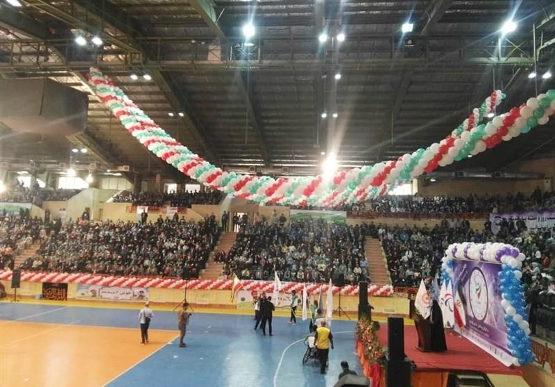 برگزاری مراسم روز ملی پارالمپیک در غیاب مسئولان وزارت ورزش+تصاویر