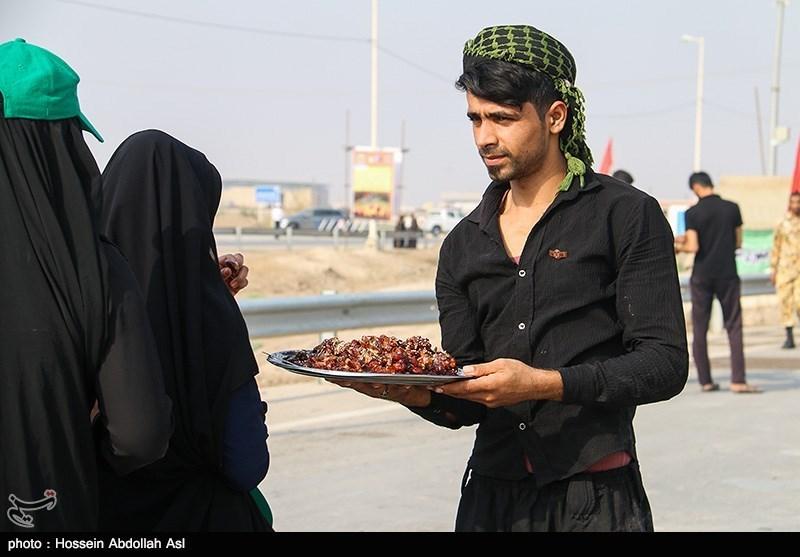 خروج زائران اربعین حسینی از مرز شلمچه
