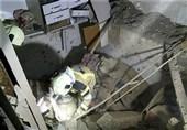 فروریختن ساختمان مسکونی در شوش بر اثر انفجار مهیب + تصاویر