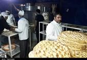 اربعین حسینی| پخت روزانه 4500 نان در نانوایی موکب اصحاب خراسانی+تصاویر