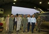 امیر سیاری از پایگاه هوایی اصفهان بازدید کرد
