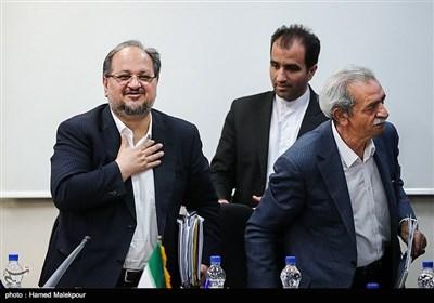 حضور وزرای پیشنهادی صنعت و کار در اتاق بازرگانی ایران