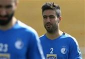 اشکهای خسرو حیدری پس از خداحافظی از فوتبال