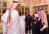 عربستان| لغو سخنرانی بن سلمان در کنفرانس اقتصادی؛ دیدار نمایشی شاه سعودی با خانواده خاشقجی
