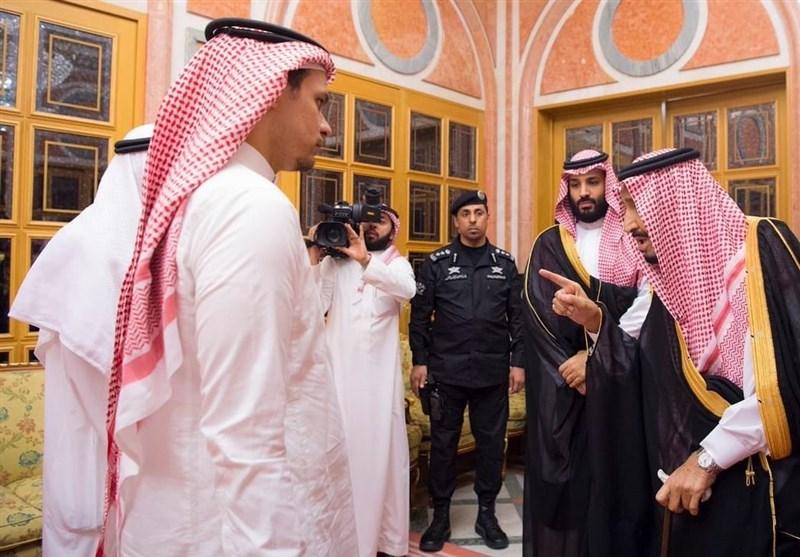 عربستان  لغو سخنرانی بنسلمان در کنفرانس اقتصادی؛ دیدار نمایشی شاه سعودی با خانواده خاشقجی