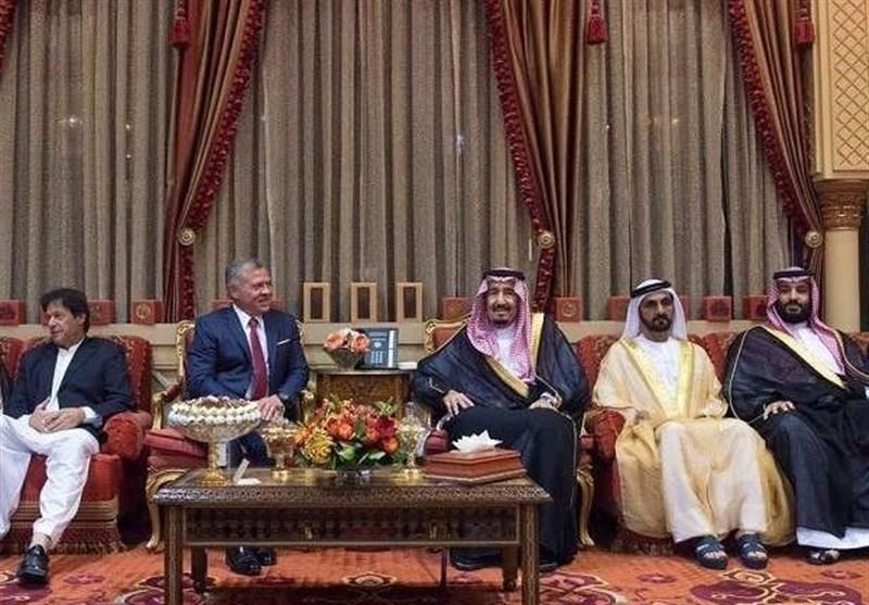دیدار پادشاه عربستان و پادشاه اردن در ریاض