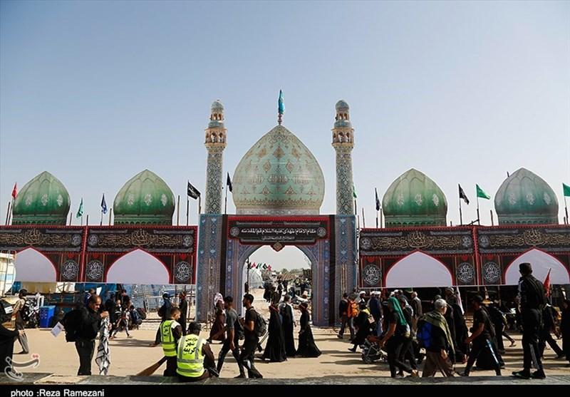 از اسکان 6 هزار نفر تا مراجعه روزانه 8 هزار زائر اربعین به مسجد مقدس جمکران