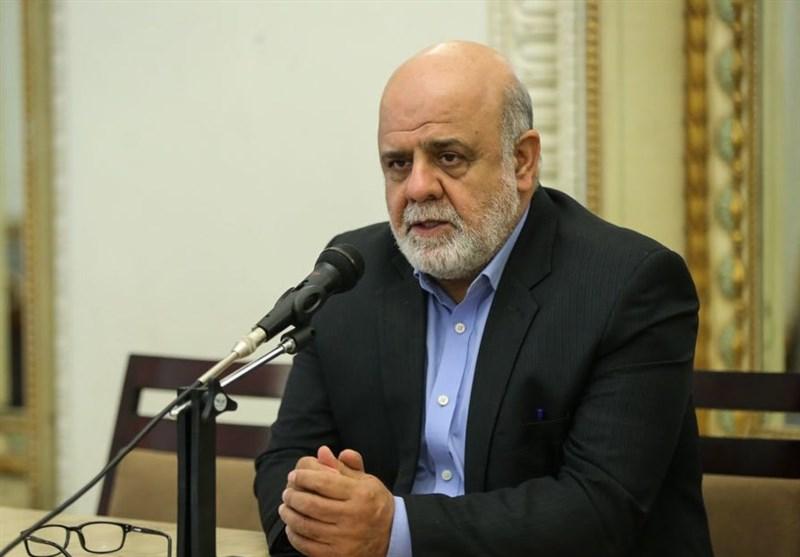دیدار رئیس دفتر اوقاف اهل سنت عراق با مسجدی/ عراقیها در کنار ملت ایران هستند