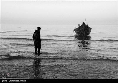 .تحمل سالها رنج و پیری در روزهای صید تنها دلیلش احتیاج مالی است،سرمای هوا و آب دریا،استرس و خطر بالای کار سلامتی این مردان بزرگ را بشدت تهدید می کند.