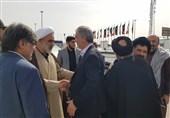 بازدید معاون فرهنگی وزارت علوم از موکبهای دانشگاهیان در چذابه