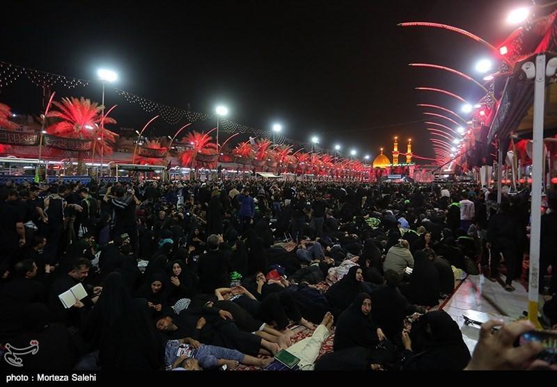 ۲۱۰ هزار زائر اربعین امروز از مرز مهران عبور کردند